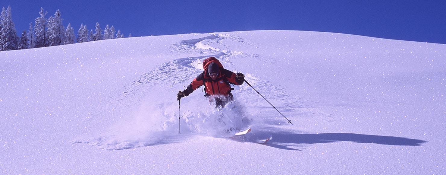 Skiing Montafon
