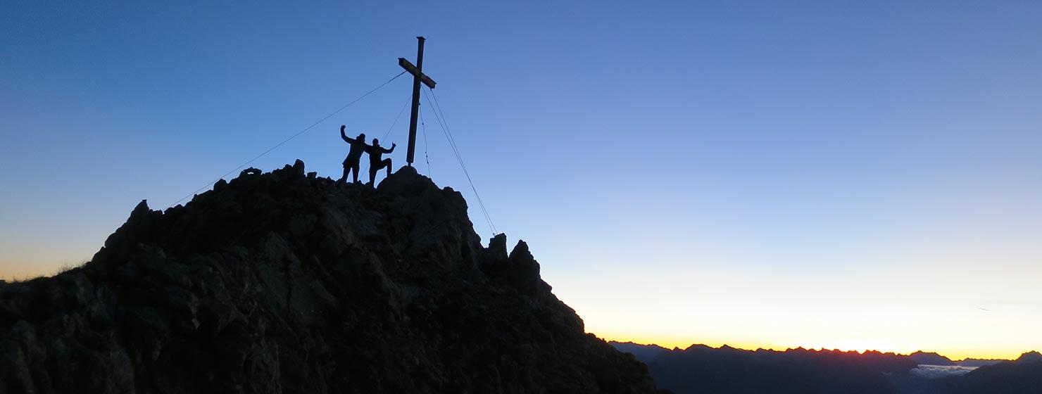 Klettern Zimba