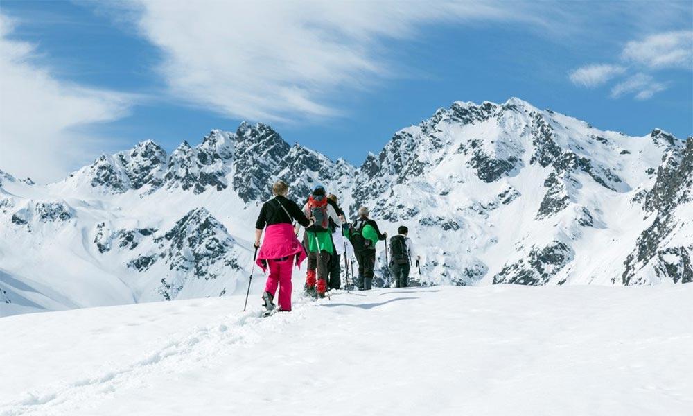 Schneeschuhwandern Silvretta Bielerhöhe