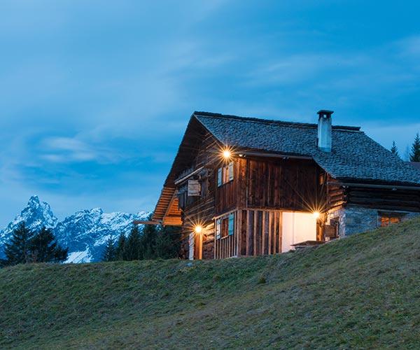 Mountain lodge Bartholomäberg