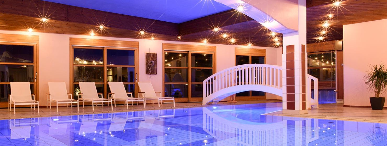 Hallenbad Hotel Montafoner Hof im Montafon