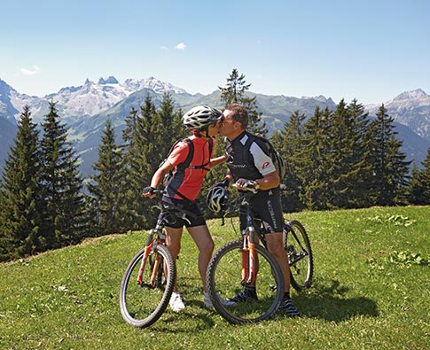 Mountainbiken Montafon