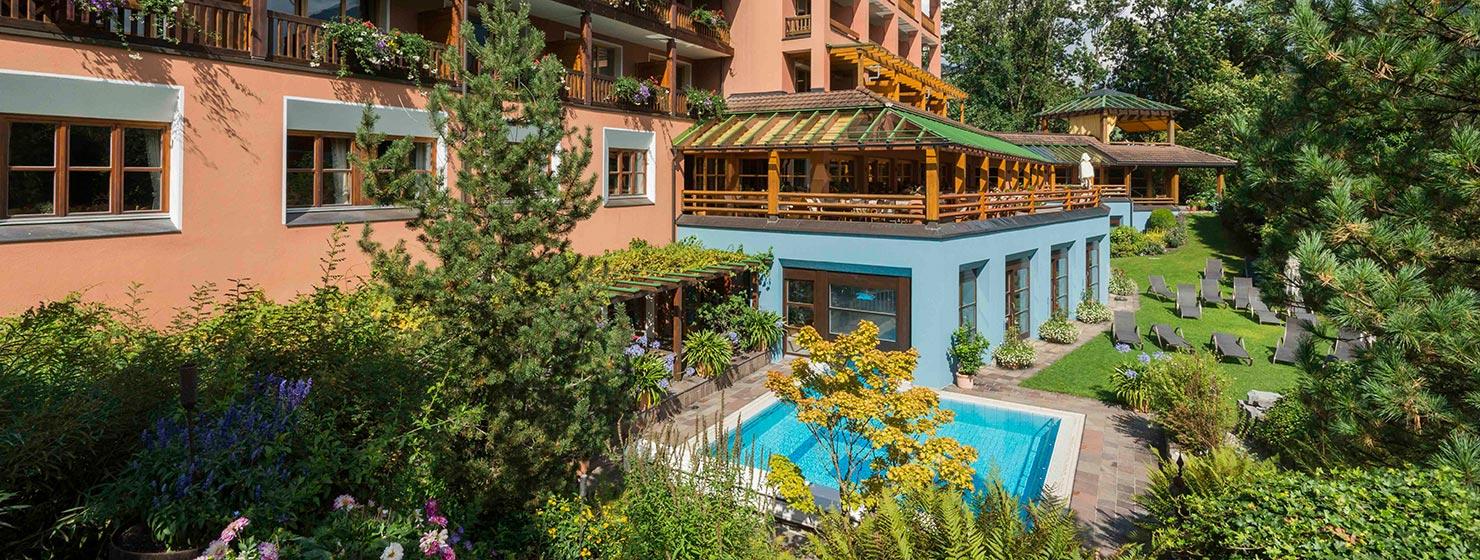 Terrace Hotel Montafoner Hof