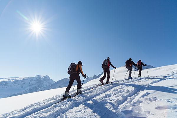 Skitouren Montafon