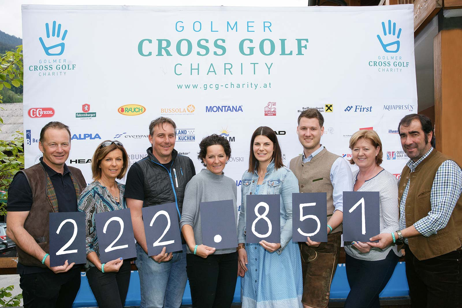 Ergebnis GCG Charity 2019